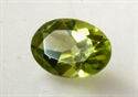 Peridot 5 x 3 mm facet